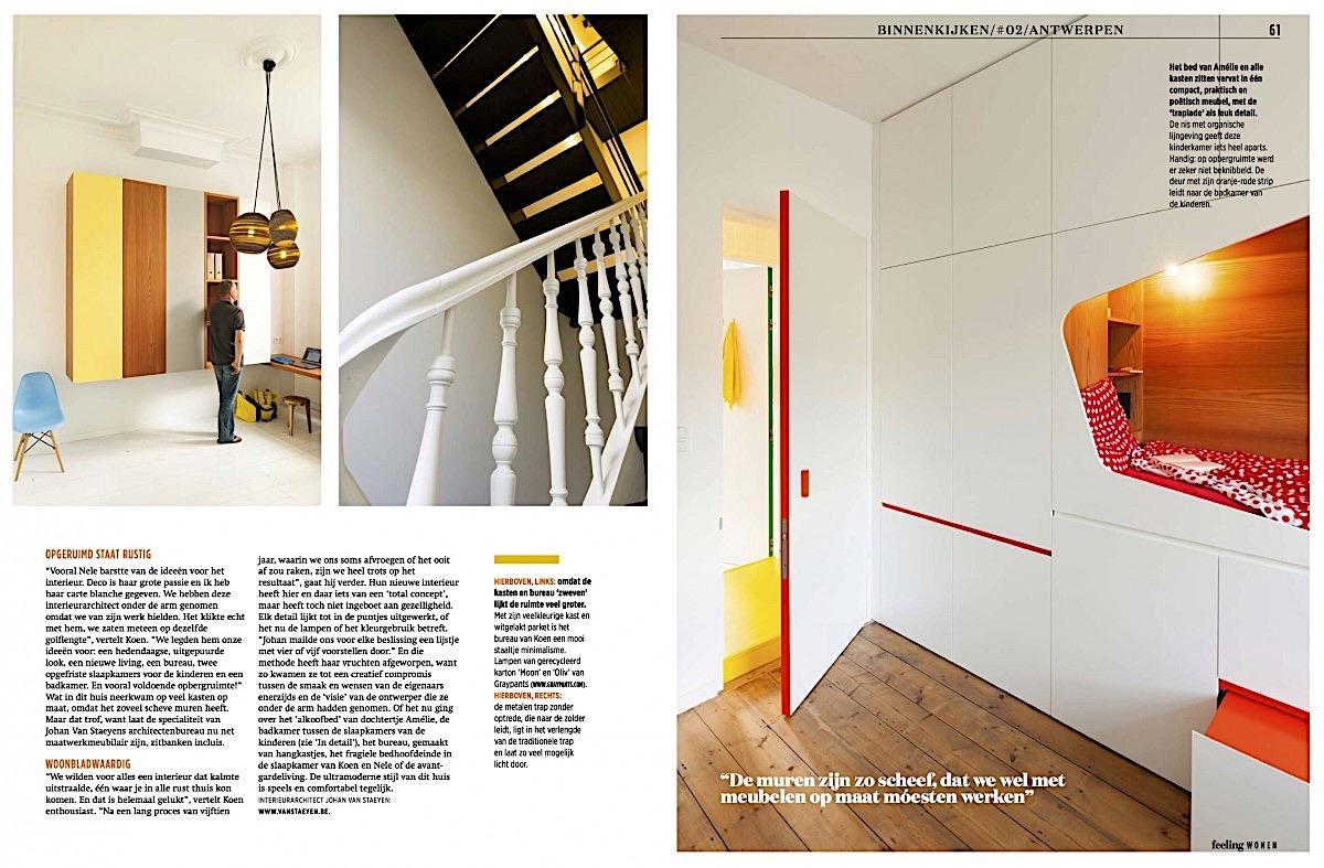 Feeling wonen for Interieur ontwerpers