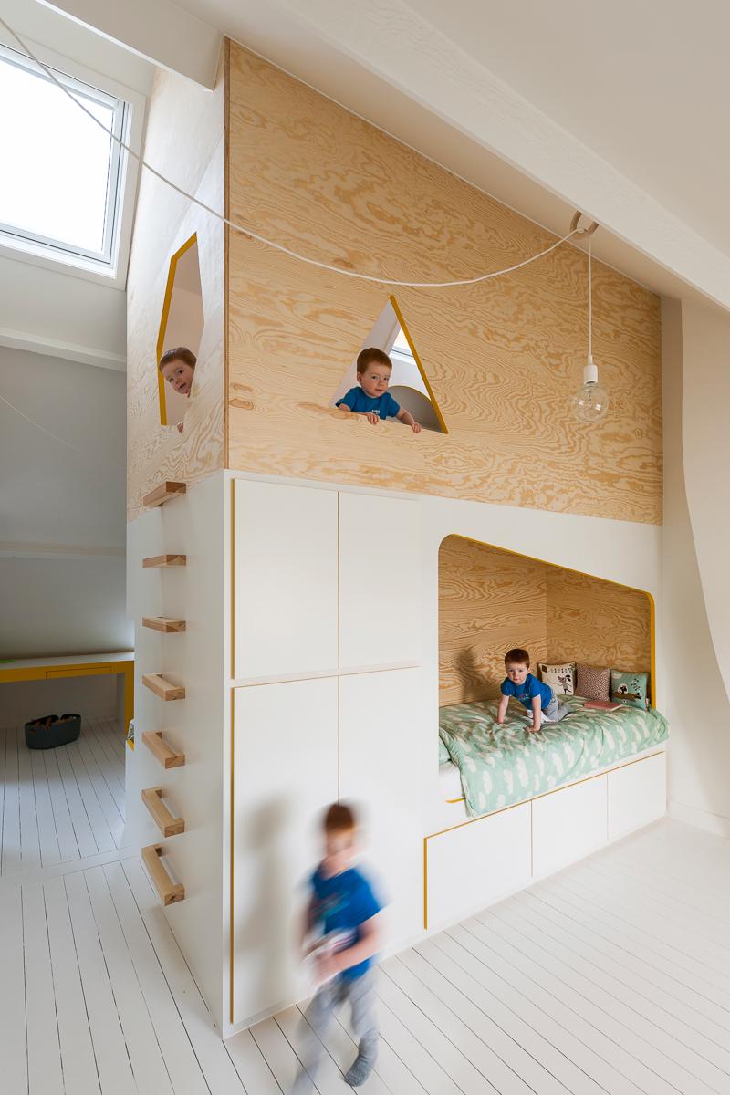 woning kinderkamers interieur